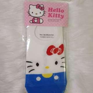 Hello Kitty Blue Socks