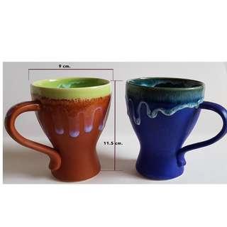 Mugs - Beautiful Hand painted Ceramic Mugs