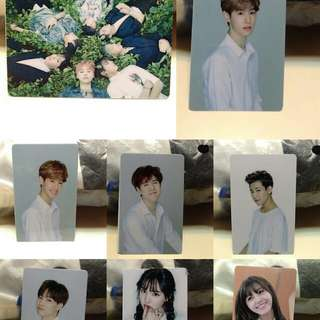 KPOP HQ Plastic Card stickers 8pcs.