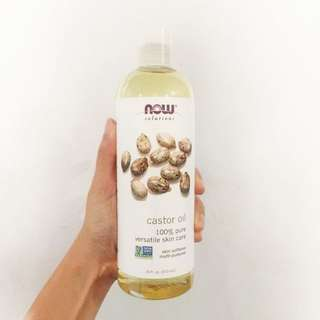 Ready Stock Now Foods, Solutions, Castor Oil, 16 fl oz (473 ml)