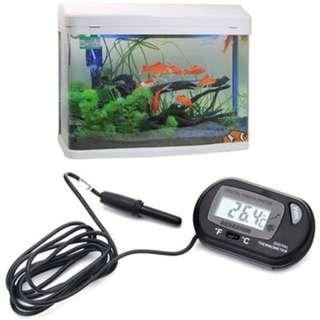 Aquatic Electronic Digital Fish Tank/Aquarium Water Temperature Gauge Thermometer
