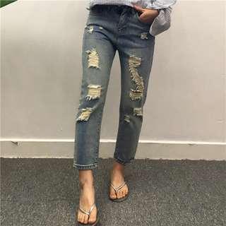 💥2018新款💥 Damage Jeans