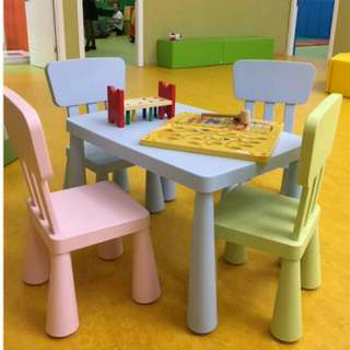 BN FREE DELIVERY Kids Table And Chairs