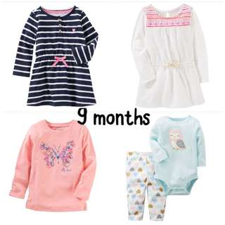 BN (9 months) baby girl clothing