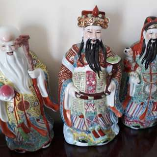 Chinese figurines (Fu Lu Shou)