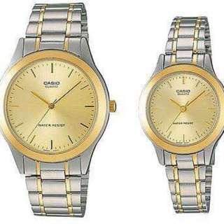 Original Casio Couple watch LMTP-1128G-9A
