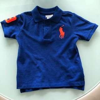 Preloved Ralph Lauren polo shirt 24 months