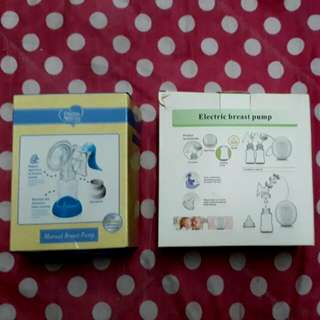 Electric breast pump+ Manual breast pump