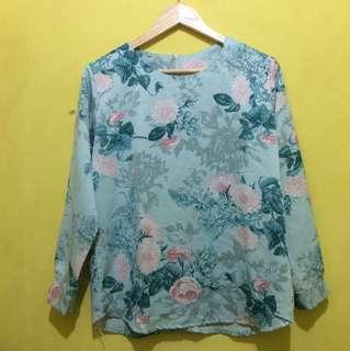 Rosie floral blouse