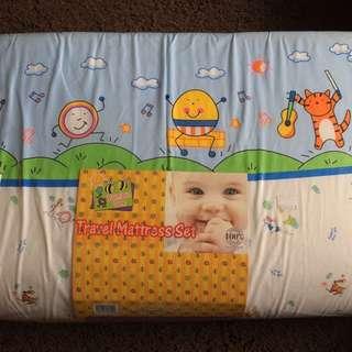 50% Off Baby Travel mattress set