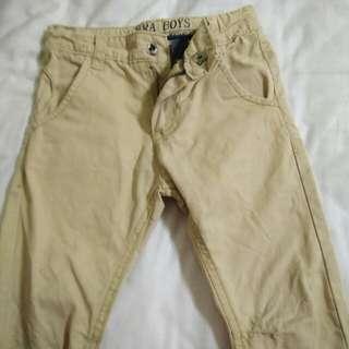 🚚 型男童薄長褲