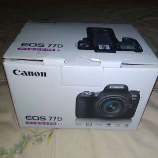 Canon EOS 77D Kit ef-s 18-55mm is stm