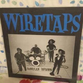 "Wiretaps - 7"" vinyl record single - grunge era"