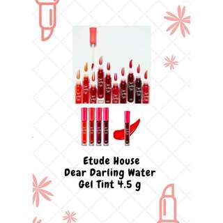 AUTHENTIC Etude House Dear Darling Water Gel Tint