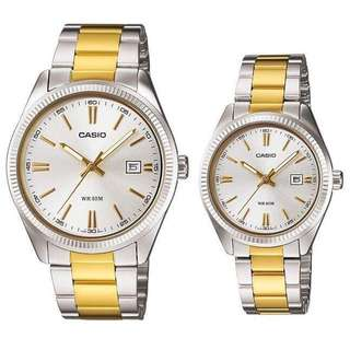 Original Casio Couple watch LMTP-1302SG-7A