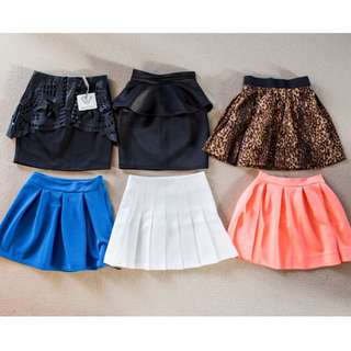 Bundle of 6 Skirts