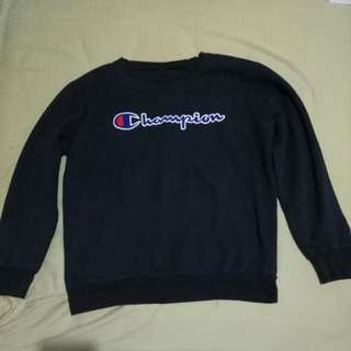 Champion Crewneck Navy Original