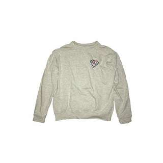 DIAMOND PATCHED SWEATER