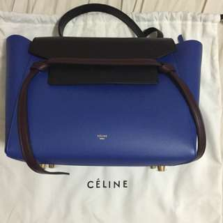 Celine Mini Belt Bag (Navy*Black)