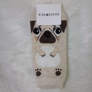 Pug Cute Socks