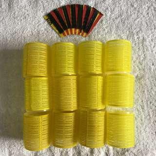 Medium Velcro Hair Rollers