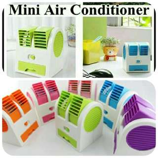AC Mini Portable DOUBLE FAN