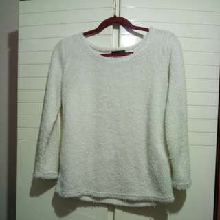 White woolen top Clearance