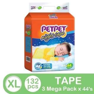 Pet Pet Night Tape Mega Pack XL44 (3 pack)
