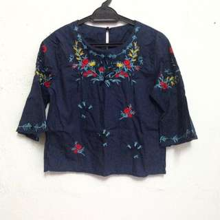 Floral Saloma Top Blouse