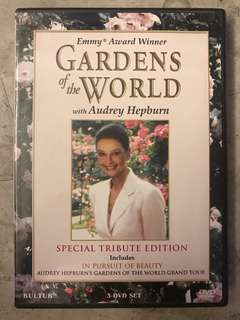 Gardens of the World with Audrey Hepburn - DVD set of 3
