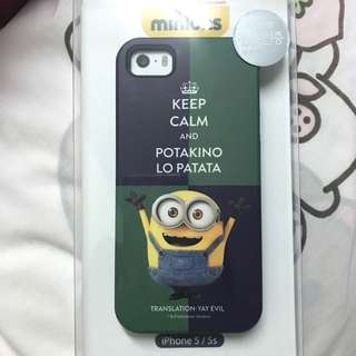 全新Minions iPhone 5/5s 手機殼