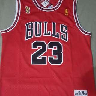 Jordan Bulls Jersey 97 finals