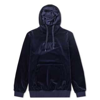 美版限定 Nike Plush Velour Hoody 絨面連帽衛衣 (三色)