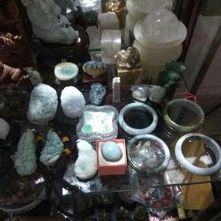 Jade,stone,wood etc all sales
