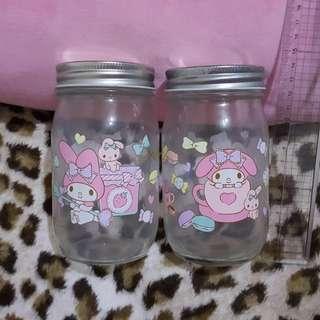My Melody 玻璃瓶
