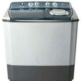 LG mesin cuci 2 tabung bisa dicicil proses 3 menit