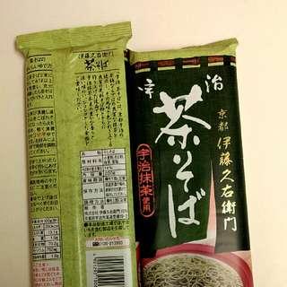 京都宇治抹茶蕎麥麵。現貨/ 預購中