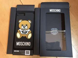 Moschino Toy Bear 手機殼 Phone case (軟膠包邊)(Latest Version)( 7 plus)