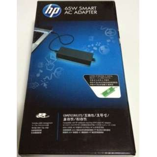 BRAND NEW IN SEALED BOX! ORIGINAL! HP 65W Smart AC Power Adapter Laptop Monitor (ED494AA)