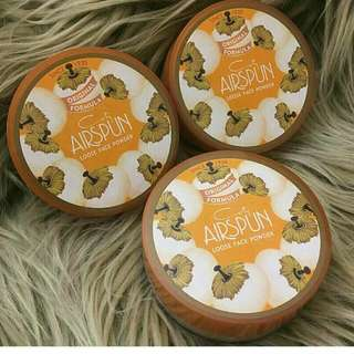 READY STOCK . Coty Airspun loose face powder: Transluent . Rm60/exclude postage Sms/whatsapp 0102684600