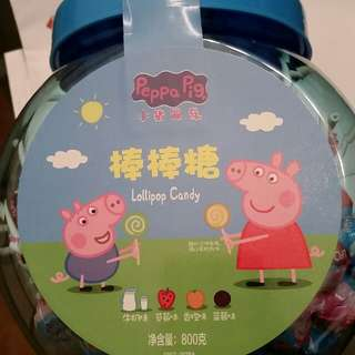 Lollipop candy ~ peppa pig
