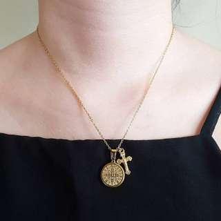 Spiritual cross necklace PRE ORDER CUT OFF MAR9