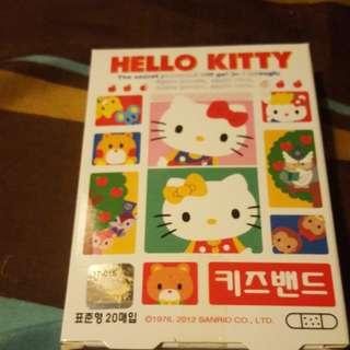 10蚊貨品 hello kitty 膠布 20 塊