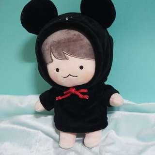 exo 伯賢 自拍賢 自拍天才賢 小熊 娃衣 衣服 不包含玩偶