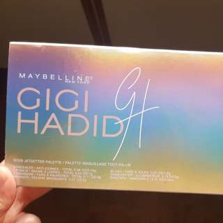 Maybelline Gigi The Jetsetter Palette
