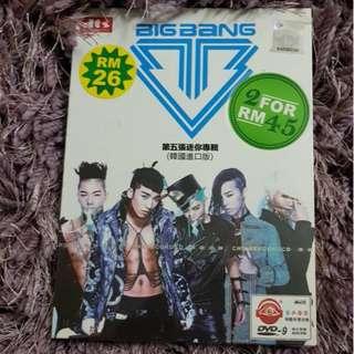 Big Bang ALIVE DVD