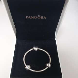 Pandora Bracklet and Charms