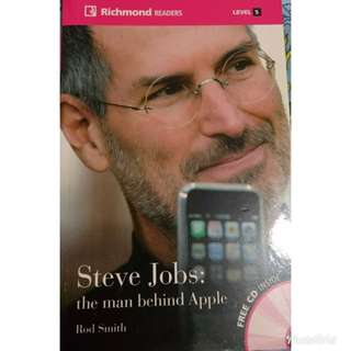 Steve Jobs: the man behind Apple by Rod Smith non-fiction level5