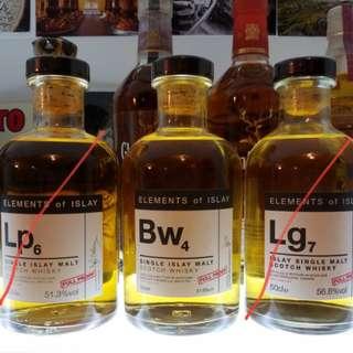 Elements of Islay Bw4 Bowmore 艾雷元素 第4版 single malt whisky 500ml
