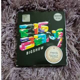 Big Bang BIGSHOW CD & DVD